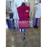 Maniquí busto de confección y costura profesional para  modisto o sastrería regulable en 10 puntos de ajuste.