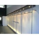 Instalación tiendas  o sistema tubos plata.